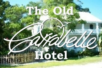 The Old Carrabelle Hotel's Old Logo