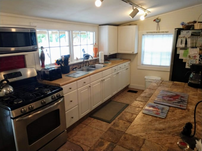 Carrabelle Cottage Kitchen