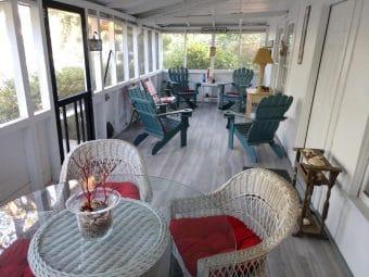 Porch Floor in Cottage